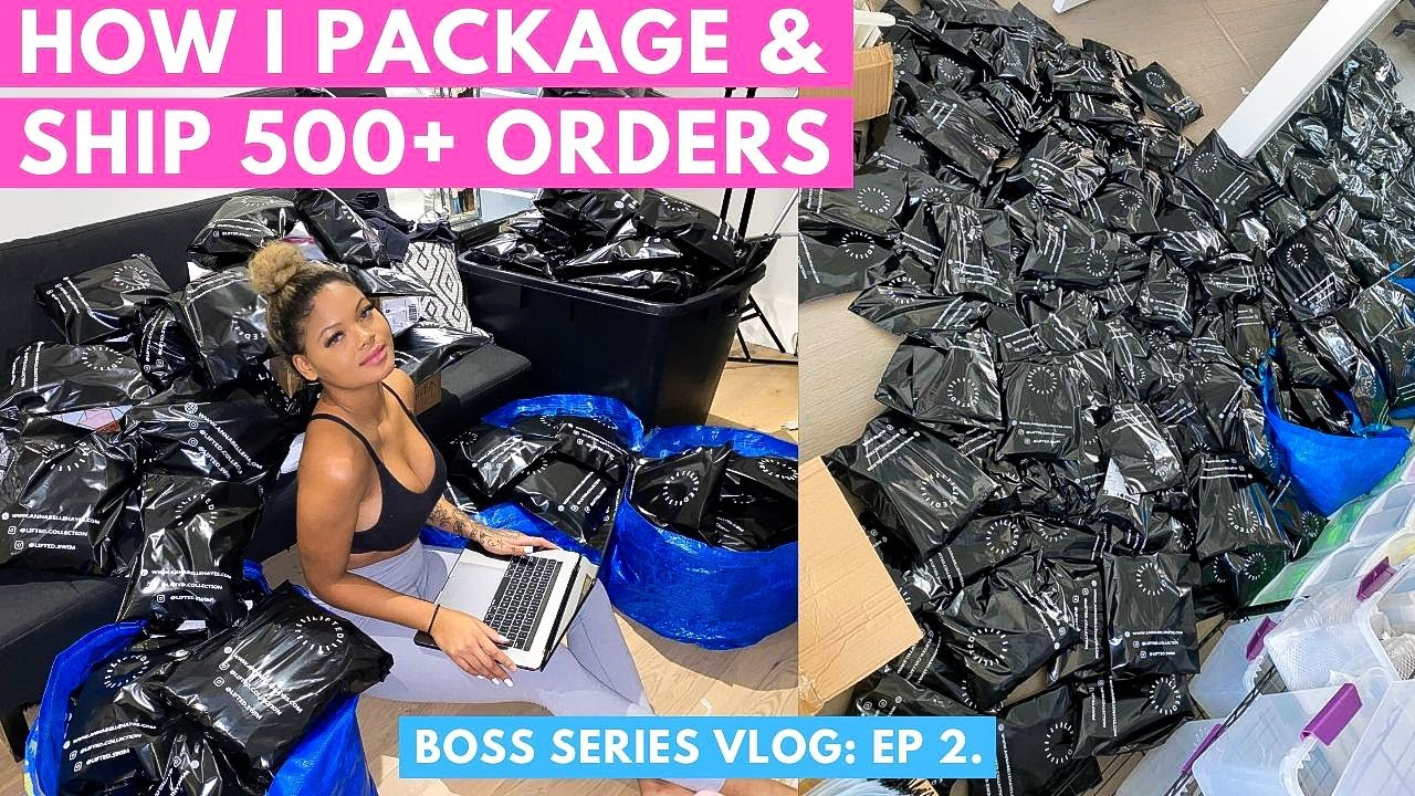 Download HOW I PACKAGE & SHIP OVER 500 ORDERS!!! | WHAT I USE, CUSTOM PACKAGING | BOSS SERIES EP.2