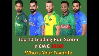 Most Runs in World Cup 2019 // Leading Run Scorer in the World Cup 2019