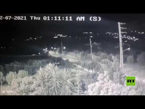 صاروخ إسرائيلي يسقط في بلدة لبنانية