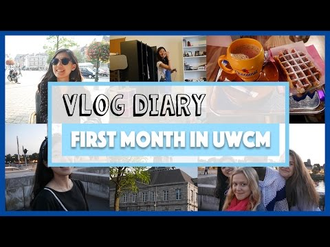 Vlog Diary:First Month in UWC Maastricht, Netherlands 在荷蘭第一個月的生活分享|Vivi Lin