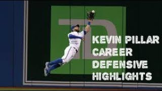 Kevin Pillar Defensive Highlights