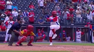HIGHLIGHTS Venezuela v Cuba - Baseball Americas Qualifier