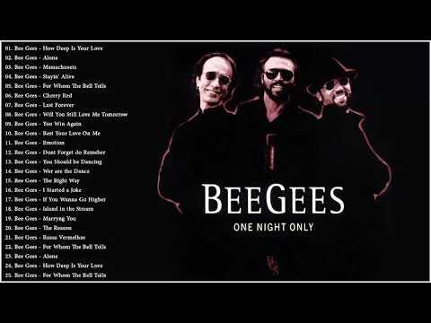Полный альбом лучших хитов BeeGees - сборник лучших песен Bee Gees