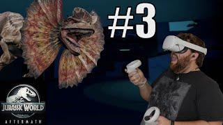 It's Dark now...WHY IS IT DARK NOW?!? - Jurassic World Aftermath Episode 3