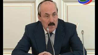 Итоги весенней сессии НС РД обсудили на заседании под руководством главы Дагестана