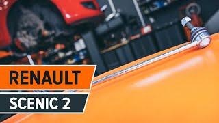 Cómo y cuándo cambiar Bieleta de barra estabilizadora delantera y trasera RENAULT SCÉNIC II (JM0/1_): vídeo tutorial