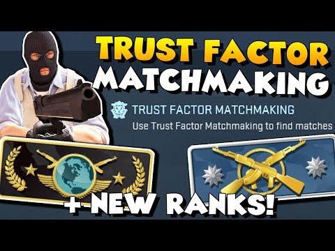 CS:GO - NEW RANKS + TRUST FACTOR MATCHMAKING! 😍 - CSGO Update for 11/13/17