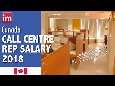 Call Center Representative Salary In Canada (2018) - Wages In Canada