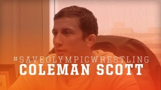 Save Olympic Wrestling: Coleman Scott Interview