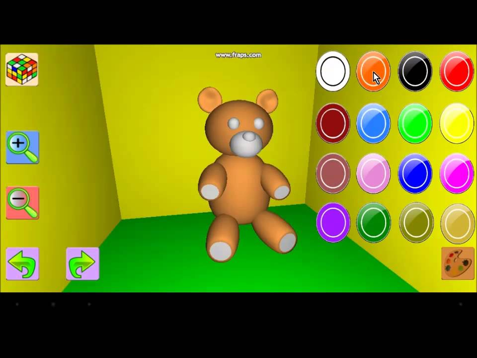 Painting 3D Objects - Android Mobil Games (3D Obje Boyama ...