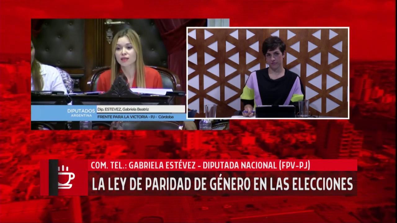 Gabi Estévez - Buen Día Río Cuarto - Diario Puntal TV