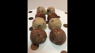 Cookie Dough Balls/عجينة الكوكيز الباردة بدون فرن: Bon Appetit