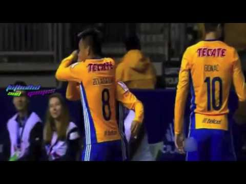 Goles Tigres UANL vs Vancouver Whitecaps FC // CONCACAF Champions League