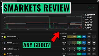 Smarkets Review: Commission & 1% Charge...
