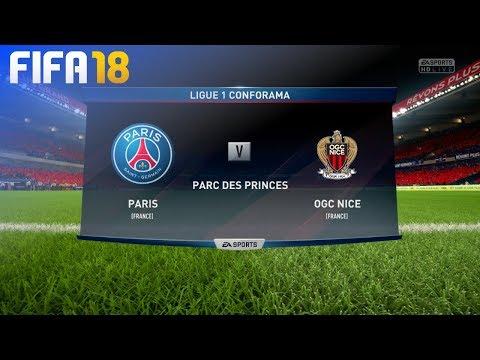 FIFA 18 - Paris Saint Germain vs. OGC Nice @ Parc des Princes