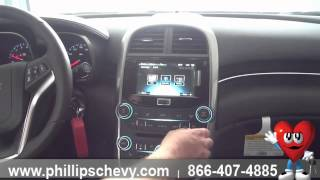 Phillips Chevrolet - 2015 Chevy Malibu - Interior Features - Chicago Dealership New Car Sales