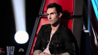 Rebecca Loebe, nice words for Christina Aguilera @ The Voice Resimi