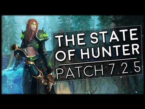 The State Of Hunter In Tomb of Sargeras & Patch 7.2.5 | World of Warcraft Legion
