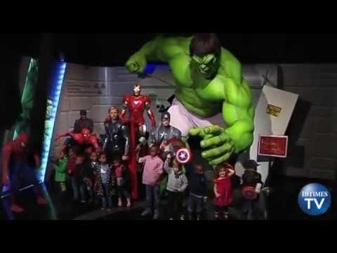 """Madame Tussauds Unveils Captain America and Thor Wax Figures Ahead of """"The Avengers"""" Release"""