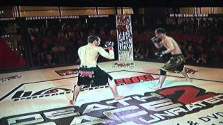 MMA Fight KO 2011 Forrest Brown vs Josh Claudio (Knockout first round)