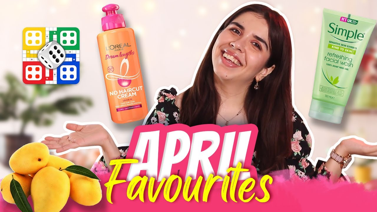 *ABSOLUTELY* Favourite Skincare, Haircare, Food, & Games from April! | Heli Ved