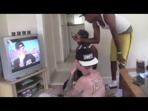 Machine Gun Kelly's reaction to seeing himself on MTV for the first time!