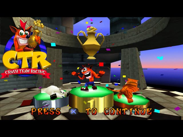 CRASH TEAM RACING - Aventura #6... (Gameplay no PlayStation)