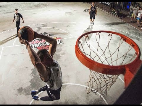 1v1 Prison Yard Basketball Finals - Red Bull King of the Rock 2014