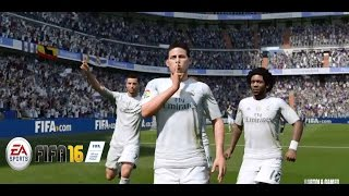 FIFA 16 FULL GAMEPLAY - REAL MADRID vs PSG - (Legendary Gameplay) Playstation 4(, 2015-09-13T19:15:55.000Z)