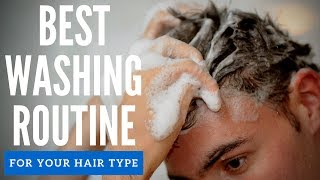 How To Wash Men's Hair - Shampoo and Conditioner Mistakes Guys Make