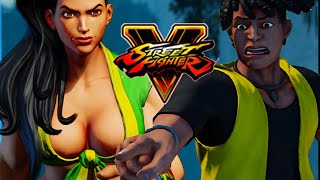 PUT SOME CLOTHES ON, LAURA: Street Fighter 5 - Story Mode Pt. 4 w/Maximilian