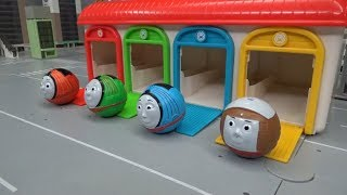 Thomas and Friends Train Ball Garage Dispatch Toys