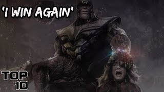 Top 10 Scary Moments In Avengers: Endgame