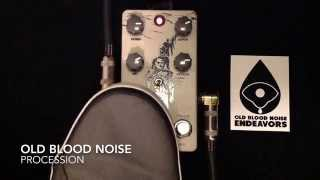 Old Blood Noise Endeavors - Procession Reverb Pedal