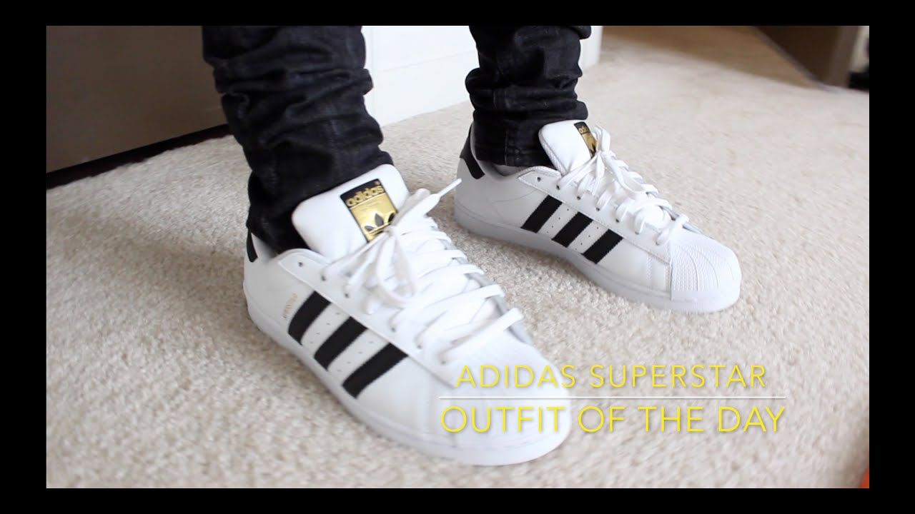 dress up with adidas superstar