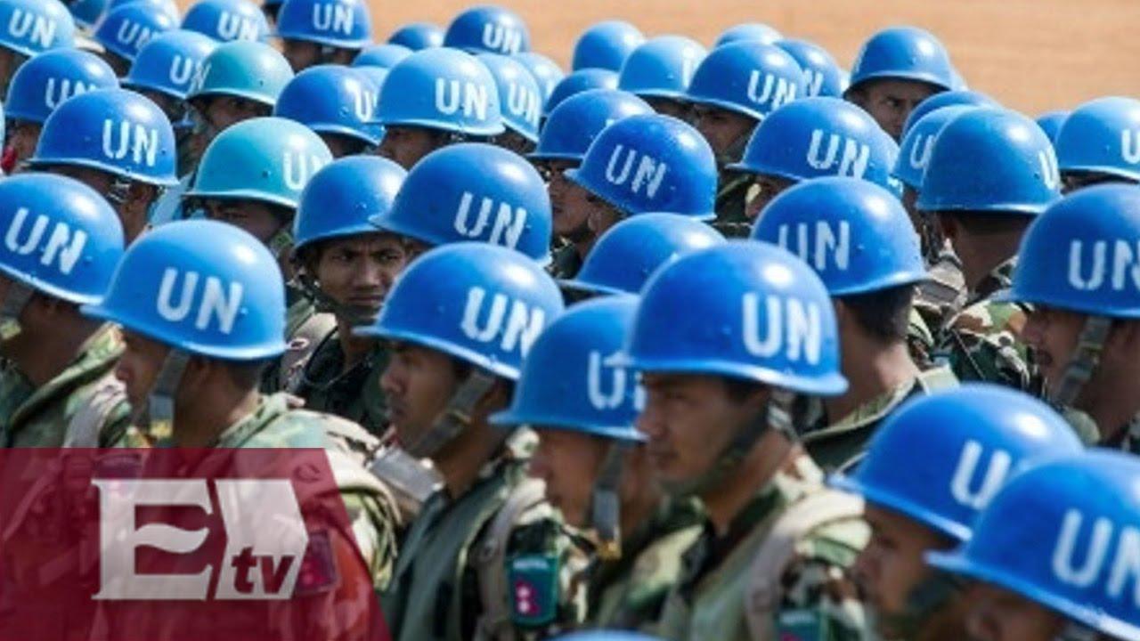 Resultado de imagen para Fotos de cascos azules de la ONU