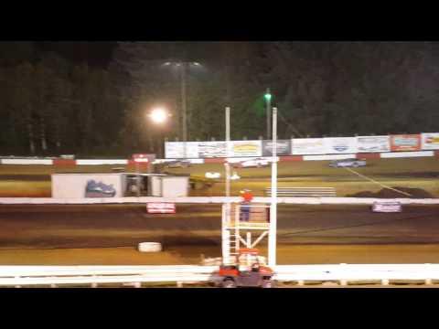 Jeffrey Hudson L88 Coos Bay Speedway Trophy Dash