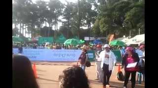 Cambodia Angkor half Marathon