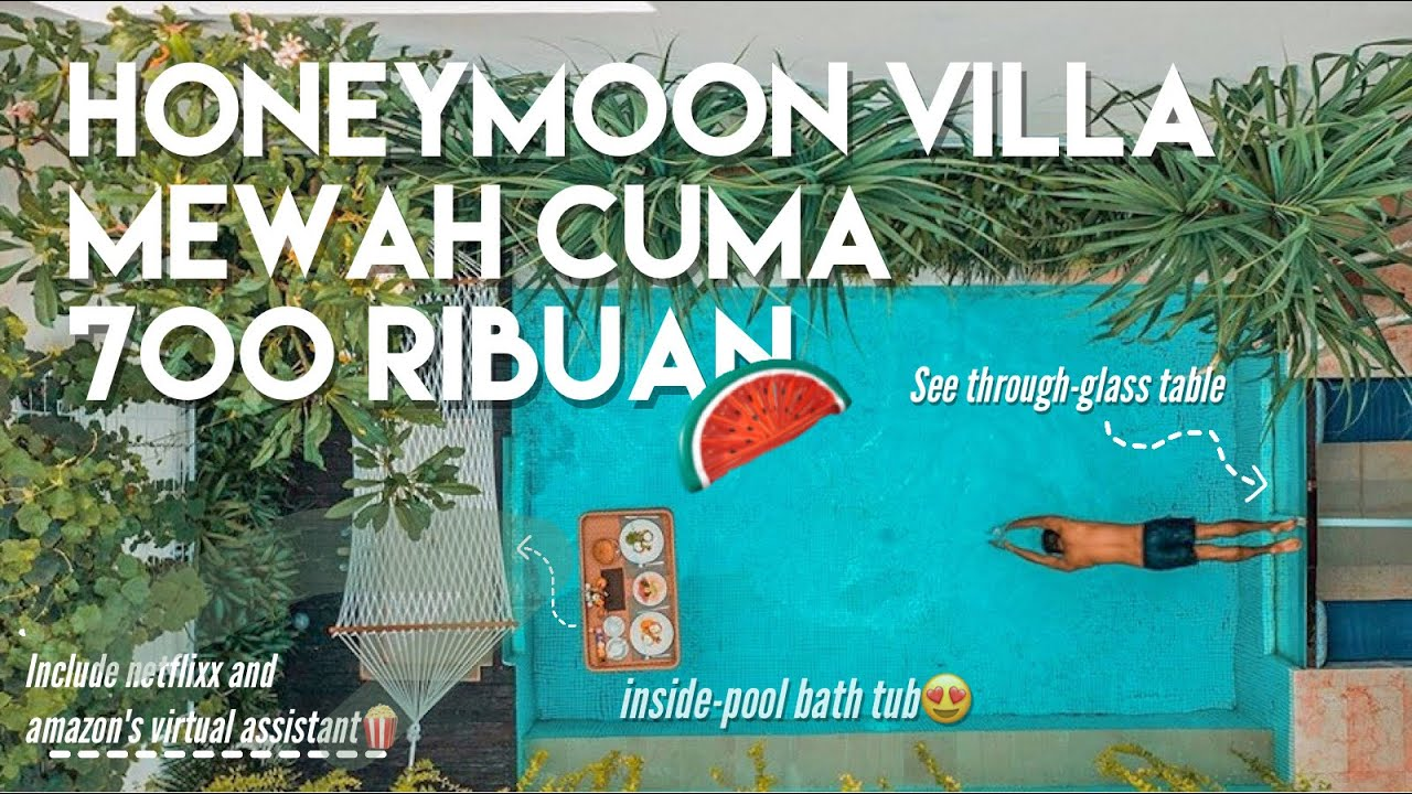 Villa Honeymoon Murah Di Bali Sana Vie Villa Review Hotel Youtube
