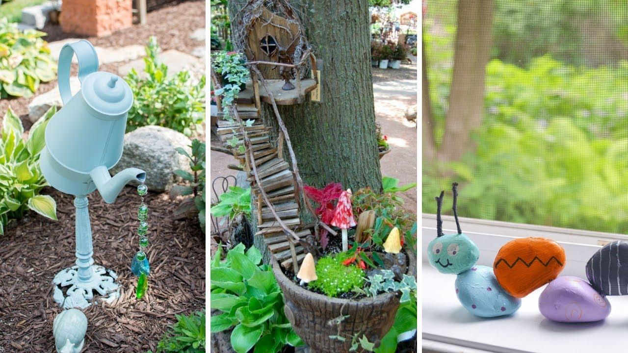 12 DIY Garden Art Ideas