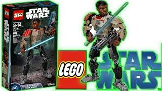 Звёздные войны Возрождение Силы Стоп моушен сборка   Финн LEGO STAR WARS