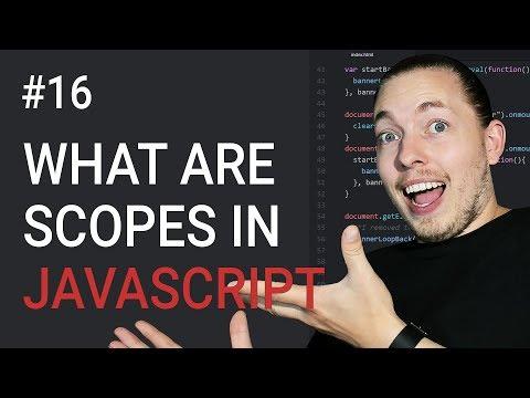 16: JavaScript Scopes | Local Scope And Global Scope In JavaScript | JavaScript Tutorial | Mmtuts
