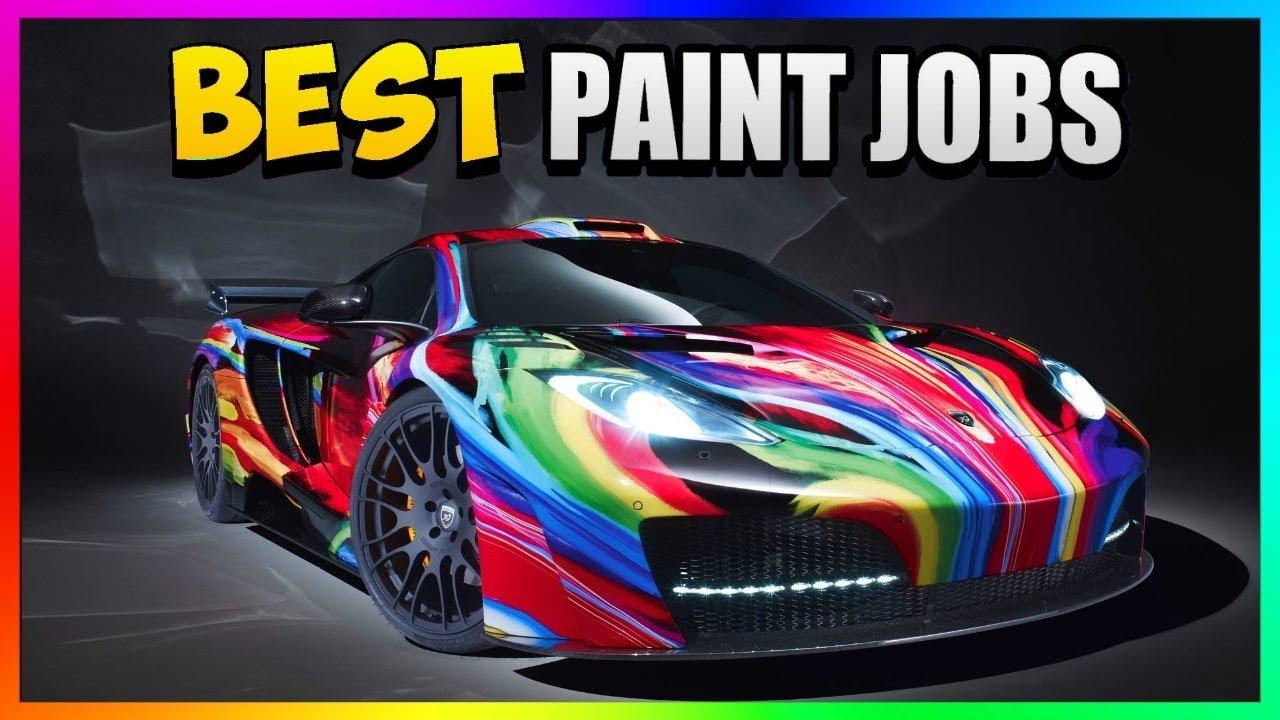 Top Three Best Rare Paint Jobs In Gta 5 Online Gta 5 Summer Color Paint Jobs