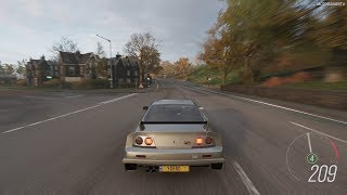Forza Horizon 4 - 1995 Nissan GT-R LM Nismo Gameplay [4K]