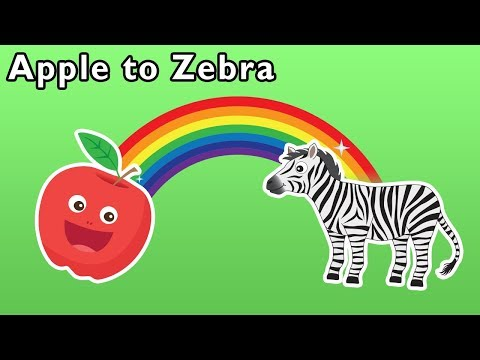 Apple to Zebra and More | ABC ANIMAL GAME | Baby Songs from Mother Goose Club!