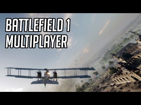 BATTLEFIELD 1 - Multiplayer: Frenético!!! (BF1 PC Gameplay)