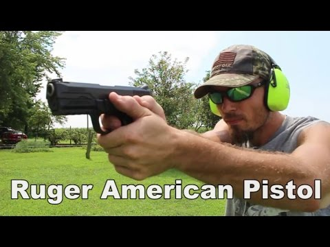 Ruger American Pistol 9mm Review
