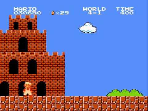 Super Mario Brothers - Nirvana Rape Me 8-bit