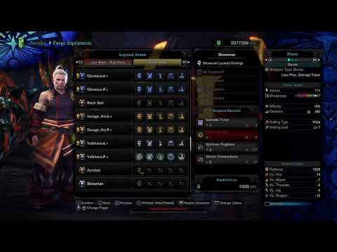 Monster Hunter World Iceborne   New Master Rank Layered Armour |