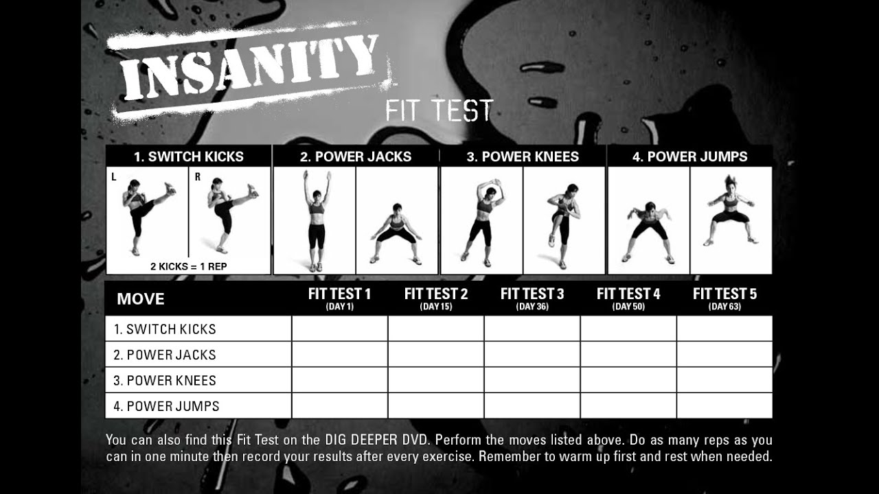 Insanity Worksheet Delibertad – Insanity Worksheets